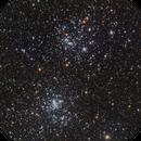 Double Cluster - NGC 869 & NGC 884,                                Michael Feigenbaum