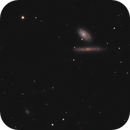 NGC 4298 and NGC 4302 in LRGB,                                Uwe Deutermann
