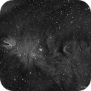 The Cone Nebula in Ha,                                Scott