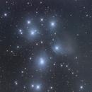 M45 - Pleiades,                                James Luke