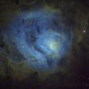The Lagoon Nebula - M8,                                Fred Bagni