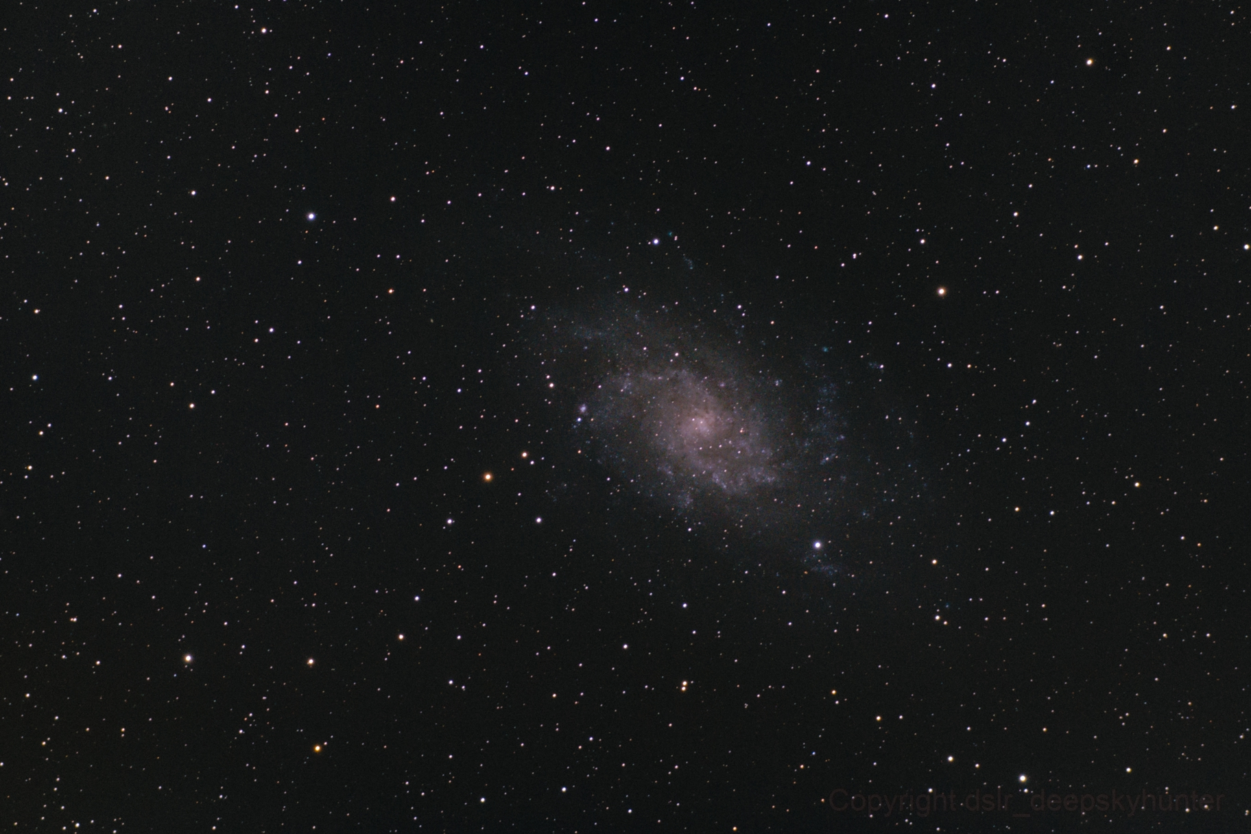 Messier 33,                                dslr_deepskyhunter