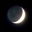 Moons Earthshine 26-may 2020,                                John van Nerum