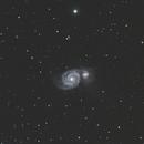 M51 on July 25, 2017,                                John Pancoast