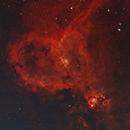 IC1805 - Heart Nebula,                                Stephen Eggleston