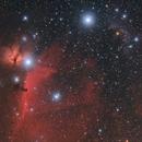 Flame & Horsehead nebula in Orion,                                Valerio Pardi