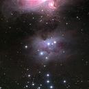 NGC1977 Running Man,                                DavidLJ