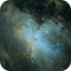 M16 the Eagle Nebula,                                Seymore Stars