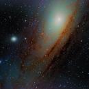 M31 - center,                                Piet Vanneste