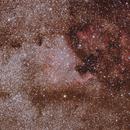 NGC 7000 region,                                Hermann Mühlichen