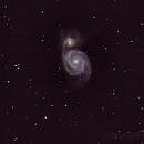 M 51 Whirlpool-Galaxy,                                Frabo