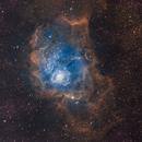 M8 Lagoon Nebula in SHO,                                Aaron Freimark