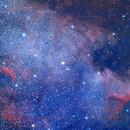 NGC7000 (unmodded DSLR),                                Qwiati