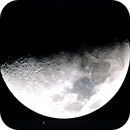 Moon and Saturn after Occultation,                                Chris Ryan
