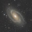 M81 & M82 8,5 hours of integration,                                Alessandro Bianconi