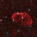 Crescent Nebula in HaRGB,                                bobzeq25