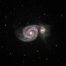 Whirlpool Galaxy (M51) in HaLRGB,                                Jose Carballada