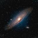 M31 Andromeda Galaxy,                                Andreas Nilsson