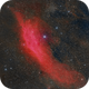 NGC 1499 The California Nebula in HaRGB,                                Terry Danks