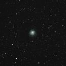M101 - The Pinwheel Galaxy,                                AstroCliffs