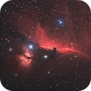 IC 434 and  B 33 in H-Alpha + RGB,                                Wolfgang Zimmermann
