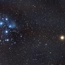 2021 Pleiades Mars Conjunction,                                Eli Holler