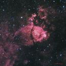 Fish Head Nebula (IC 1795),                                DustSpeakers