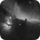 Horse Head Nebula and friends in Ha,                                Andreas Eleftheriou