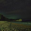Starry Night at Shipwreck Beach on Kauai, HI,                                JDJ
