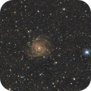 IC 342 - The Hidden Galaxy in Camelopardalis,                                Kharan
