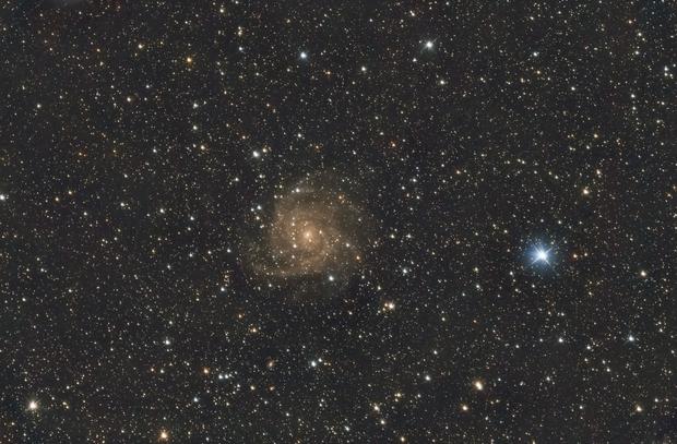 IC 342 - The Hidden Galaxy in Camelopardalis,                                Kharan