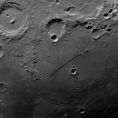 Rupes Recta one day after the first lunar quarter,                                MAILLARD