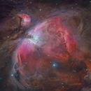 The orion nebula M 42,                                Christoph Lichtblau
