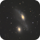 NGC 4438 and NGC 4435, The Eyes (Arp 120),                                Madratter