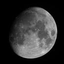 Gibbous moon,                                Alf Jacob Nilsen