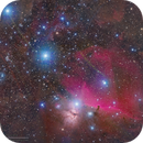 NGC2024 Flame Nebula, B33 Horsehead Nebula and Orion's Belt in RGB,                                Kayron Mercieca