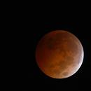 Eclipsed Moon and Uranus,                                Jesús Muñoz