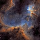 Heart Nebula - IC1805 - SHO,                                Thomas Richter