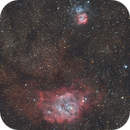 Lagoon & Trifid Nebula / M8 & M20,                                Gregor Vojščak