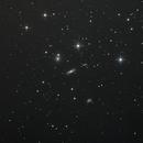 Galaxiengruppe Hickson 44 im Löwen - 2-fach gedrizzelt,                                astrobrandy