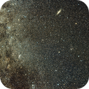 Milky Way near Cassiopeia with M31 and M33 in the frame,                                JD