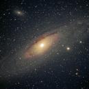 Andromeda single 30 sec. exposure,                                Lewie