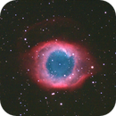 NGC7293, the Helix - a childhood dream come true (drizzle 2x processing),                                Gianni Cerrato