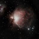 Orion Nebula M42, NGC 1973, 1975 & 1977,                                James R Potts