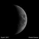 Waxing Crescent - 4/2/2017,                                Damien Cannane