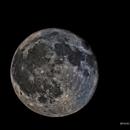 2014.03.17 Moon fase 98%,                                Giorgio Baj