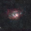 The Lagoon Nebula - M8,                                Michael J. Mangieri