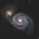 Whirlpool Galaxy,                                Kai Albrecht