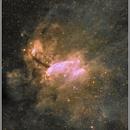 IC 4628 - Prawn Nebula in Scorpius - H-alpha + RGB,                                Ray Caro