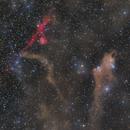 Dust and Hydrogen in Cepheus,                                Josh Smith